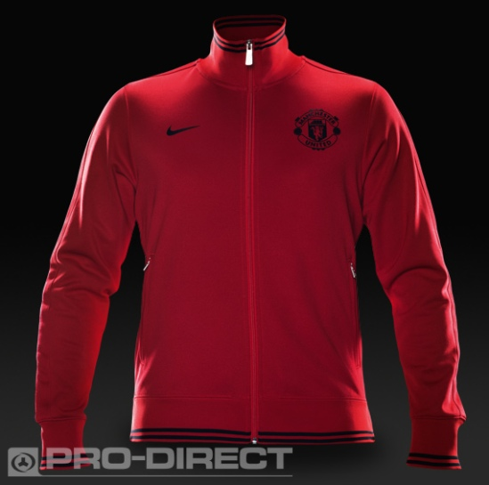 Jacket Man United Nike Red Storm